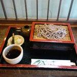 そば処 こやぶ - もりそば(700円)2010.7