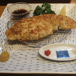 おかめ食堂 - ロースかつ(焼き)