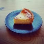 レタンプリュス - 冷やしチーズケーキ。