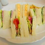 レガロ フェリーチェ - 料理写真:サンドイッチ