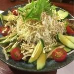魚筍 - サラダ