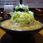 麺家 黒 - どか盛り野菜ラーメン(並)