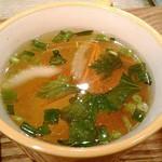 チャンパーカフェ - スープ