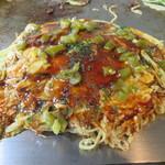 Masaru - そば入り(肉・卵)+ハラペーニョ