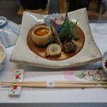 日本料理里中 - 料理写真:2016.05 先付