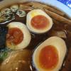 一刻屋 - 料理写真:醤油ラーメン、煮玉子・メンマトッピング