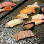 おたる政寿司 - お昼で一番良いセット(^o^;)