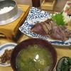 龍神丸 - 料理写真:鰹の塩たたき定食