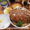 とんかつ吉乃家 - 料理写真:デミソースかつ丼 ¥900-