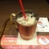 上島珈琲店 - ドリンク写真:ブルボンヴァニラの無糖ミルク珈琲(アイス):420円