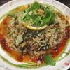 十六房 - 料理写真:グリーン伽喱和え麺 香菜風味