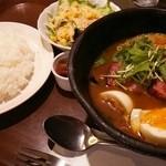 51388214 - 野菜とベーコンのスープカレー