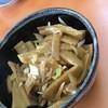くるまやラーメン - 料理写真:おつまみメンマはニンニクが効いて旨い。