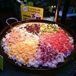 阪急トップ ビアガーデン - 六色おこげごはん