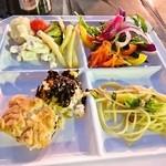 阪急トップ ビアガーデン - お料理いろいろ