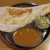 INDRA - 料理写真:Bセット(チキンカレー)
