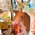 阪急トップ ビアガーデン - フィナンシェのアイスデザート