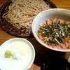 萬屋 遊蕎 - 料理写真:ランチ『葱トロ丼とお蕎麦』¥1000-