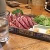 居酒屋又四郎 - 料理写真:馬刺し。