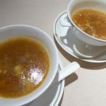 51407666 - フカヒレ入り酸辣湯、蟹肉入りフカヒレスープ