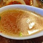 青葉 - 特製つけめん(スープ)