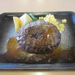ジョイフル - 料理写真:ペッパーハンバーグ