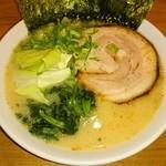 ゆき坊 - 塩豚骨ラーメン