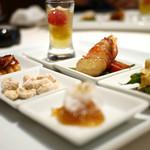 海鮮名菜 香宮 - 前菜盛り合わせ