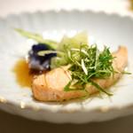海鮮名菜 香宮 - 桜鱒の香り蒸し