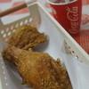 ジョイパックチキン - 料理写真:Bセット(カレーチキン2、ドリンク