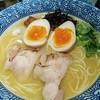 濃厚京鶏白湯らーめん めんや 美鶴 - 料理写真:濃厚鶏白湯そは味玉880円