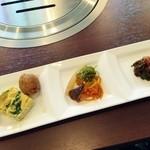Ogawatei - カルビランチ前菜♪
