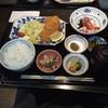 すいどうばし 越州 - 料理写真:越後もち豚カツ膳です。 付け合わせにはお刺身、おから、お新香といった小鉢が有り難いです。 新潟ということで当然ながらお白米も美味しいです。