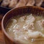 イベリコ豚おんどる焼 裏渋屋 - 豬汁(とんじる)