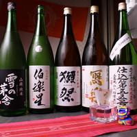 店主厳選、おすす日本酒