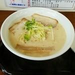 鳥見本 - 「特濃ラーメン醤油」800円税込