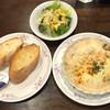 カフェ・ド・ゴヤ - 料理写真:木曜日のグラタンランチ(サーモンとシーフードのグラタン)ドリンク付 税込900円