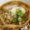 ラーメン ぼーんず - 料理写真:煮干し中華そば@600円