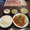萬福酒楼 - 料理写真:豚肉の山椒、唐辛子煮、四川風料理