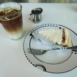 松之助 N.Y. - アイスラテとバナナクリームパイ