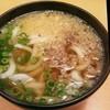 すし日和 - 料理写真:肉うどん[\300税別]2016年4月