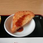 台湾料理 しん龍 - 料理写真:味噌ナスランチの揚げ物