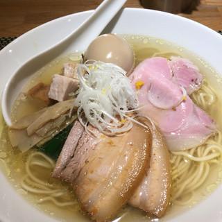 生粋 花のれん - 料理写真:特製旨味鶏だし、塩