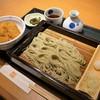 越後長岡 小嶋屋 - 料理写真:タレかつ丼へぎセット(1566円)