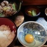 わんや - すき焼き定食 2016.5