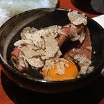 よろにく - ザブトンのすき焼、サマートリュフカケ