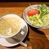 レストラン ハッスル - 料理写真:スープとサラダ