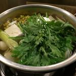 湯どうふごん兵衛 - 湯豆腐 1300円