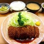 丸八とんかつ - ヒレカツ定食