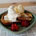 サンカフェ - 料理写真:フレンチトースト
